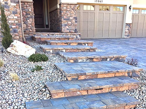 Hardscape Steps and Entryway