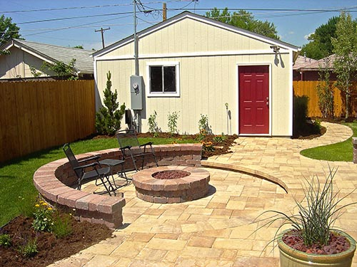 Landscaping After Image